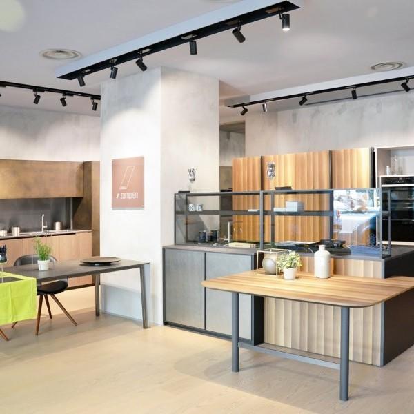 Zampieri flagship store milano molino48 cucine moderne su misura - Zampieri cucine showroom ...