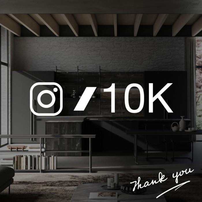 10K Followers on Instagram!