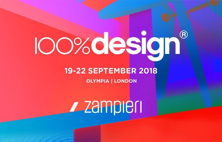 Il Made in Italy Zampieri Cucine al 100% Design di Londra