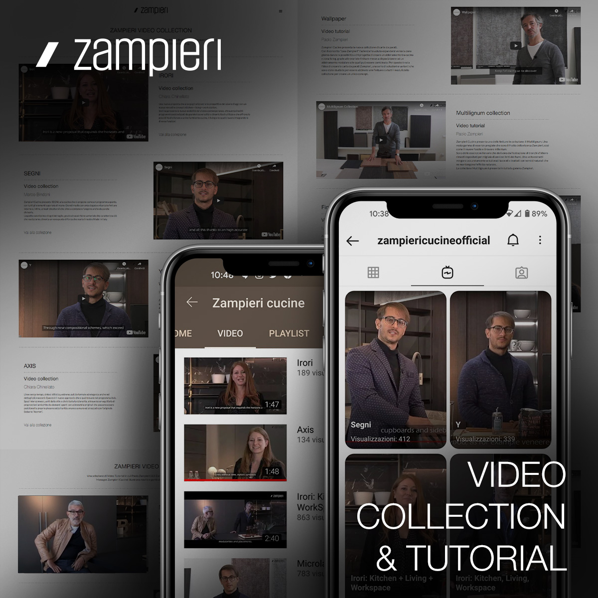 Zampieri Experience: Scopri Tutti i Video