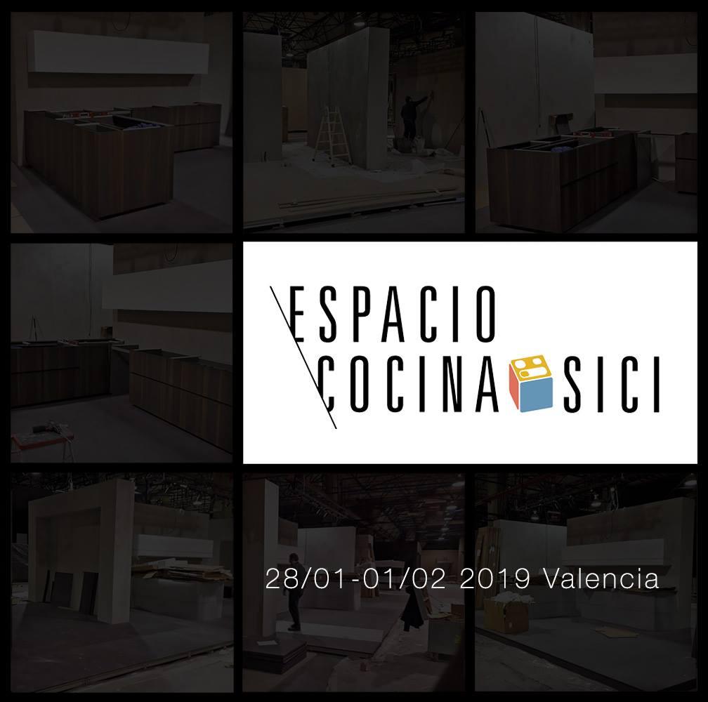 Zampieri Cucine a Espacio Cocina SICI, Valencia