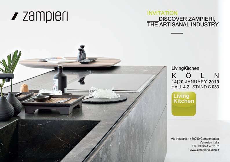Zampieri Cucine a LivinKitchen 2018